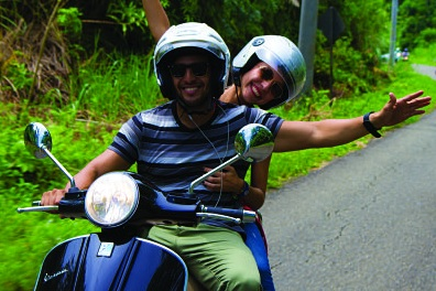 rent a moto scooter vespa in panama